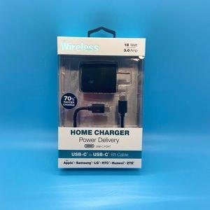 Just Wireless - Power Adapter - Black